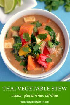 Thai Vegetable Stew from plantpoweredkitchen.com by Dreena Burton #vegan