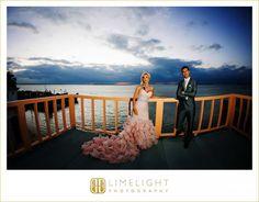 RESORTS WORLD BIMINI BAY, Bahamas, Bimini Bay, Bride and Groom, Pink Wedding Dress, Wedding Photography, Limelight Photography www.stepintothelimelight.com