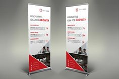 Business Roll Up Banner by UNIK Agency on @creativemarket