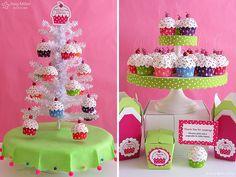 Cupcake Ornament Display