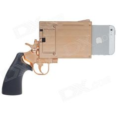 Pistol Shaped iPhone Case
