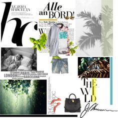 """""""the wild"""" by junelaze ❤ liked on Polyvore"""