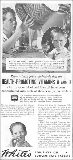 WHITE'S COD LIVER OIL CONCENTRATE TABLETS  GOOD HOUSEKEEPING  12/01/1934  p. 212