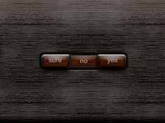Wood Buttons | Designer: Jarno Fabritius