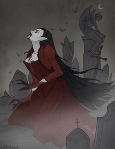 Dark Fantasy Art, Fantasy Artwork, Dark Art, Gothic Artwork, Vampire Girls, Vampire Art, Gothic Vampire, Character Inspiration, Character Art