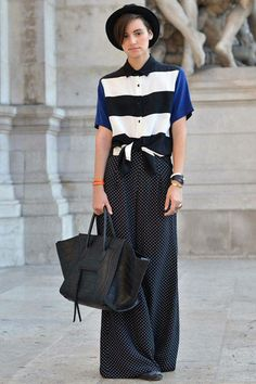Style du Jour - Street Style from Paris Fashion Week - Discover More Street Style - Elle