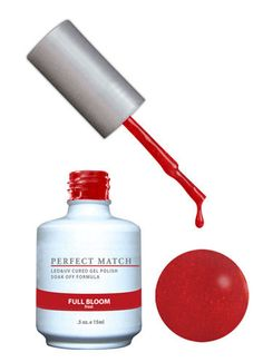 LeChat Perfect Match Gel + Matching Lacquer Full Bloom #100