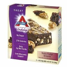 Atkins Endulge Brownie Nutty Fudge 5 ct Quantity of 5 * You can find more details by visiting the image link. (This is an affiliate link) Low Carb Recipes, Whole Food Recipes, Fudge Flavors, Filling Snacks, Counting Carbs, Chocolate Liquor, Nutrition Bars, Fudge Brownies, Light Recipes