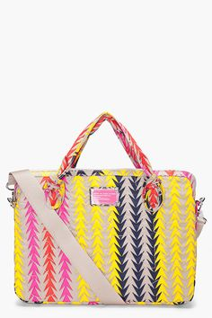 Marc By Marc Jacobs Multicolor Pretty Laptop Case - need this for in an iPad case, when I get an iPad ;)