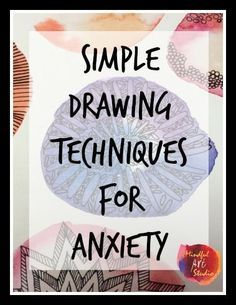 10 Positive Cool Ideas: Anxiety Bible Verses Quotes anxiety tips young living.Stress Management For Women stress relief tips ideas.Stress Relief Techniques Self Massage. Art Therapy Projects, Art Therapy Activities, Therapy Tools, Play Therapy, Therapy Ideas, Group Activities, Anxiety Activities, Therapy Journal, Dementia Activities