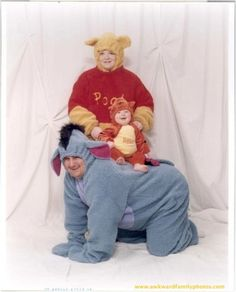 This father was so relieved when he found out he was gonna be Eeyore.