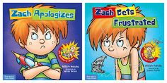 Books That Heal Kids: Zach Rules Series--great strategies for how to apologize and deal with frustration