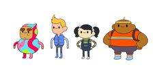 Bravest Warriors as Kids - Bob Flynn Pendleton Ward, Bravest Warriors, 90s Childhood, Adventure Time Anime, Cartoon Shows, Character Illustration, Funny Cute, Chibi, Nerd