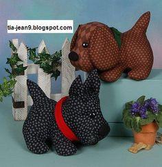 bellos moldes de estos perritos scotty me encantan soy fan de ellos un abrazo JEannine
