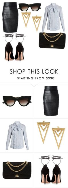 """""""Untitled #23"""" by ruth-jaimie-hollingsworth on Polyvore featuring E L L E R Y, Dsquared2, RED Valentino, Chanel and Valentino"""