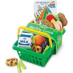 "Learning Resources Pretend and Play Healthy Lunch Basket - Learning Resources - Toys ""R"" Us"