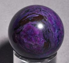 pictures of south american gems and minerals | Sugilite Natural Crystal Sphere - South Africa
