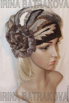 Hats handmade.  Fair Masters - handmade beret 060. Handmade.