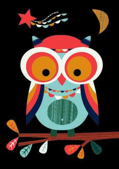 Tumblr - Owl by Sophie Ledesma
