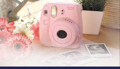 Câmera Instantânea Fujifilm Instax Mini 8 Rosa no Submarino.com 45cc3a7f53
