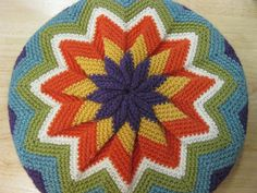 Ravelry: Pinwheel Pillow pattern by Morgan Forrester