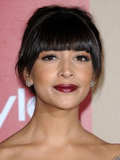 Golden Globes 2013: The best after-party beauty looks — Hannah Simone http://beautyeditor.ca/gallery/golden-globes-2013-the-best-after-party-beauty-looks/hannah-simone/