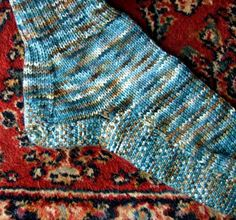 An American in China socks - Spring 2008 - Knitty