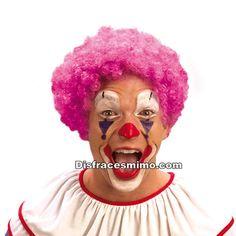 Tu mejor peluca de payaso rosa rizada pr 8598900, es perfecta para complementar tus disfraces de payaso o bufona. Serás la culpable de todas las risas de los eventos a los que vayas, fiestas tematicas del circo y payasos. Compra tu peluca barata.