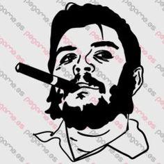 Pegame.es+Online+Decals+Shop++#che_gevara+#face+#celebrity+#realistic+#vinyl+#sticker+#pegatina+#vinilo+#stencil+#decal