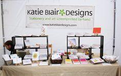 Katie Blair Designs - Lincoln Arts Festival #craft #fair #booth