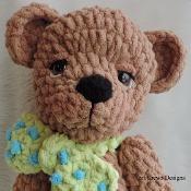 Cute Old Bear  - via @Craftsy