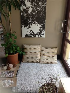 """Creating quiet spaces in the classroom. """"Cozy Corners"""" to chill out for students who are struggling making transitions between active/quiet activities, or who just need a minute to recollect themselves."""