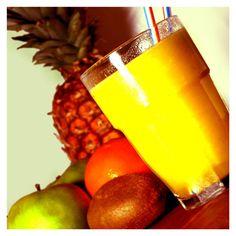 8. Licuado de melón y piña. Es uno de los licuados para bajar de peso por su efecto desintoxicante, ayuda a quemar grasas con mayor rapidez y su sabor es delicioso y refrescante