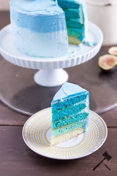 - Law of Baking - - - haar frben Blue Ombre Cake – Nicht nur Haare knnen Ombre! – Law of Baking – – haar frben Blue Ombre Cake – Nicht nur Haare knnen Ombre! – Law of Baking – – Sweet 16 Cupcakes, Ombre Cake, Food Cakes, Cupcake Cakes, Japanese Pastries, Ocean Cakes, 16 Cake, Blue Cakes, Different Cakes