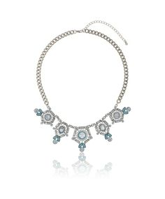 Gina Tricot -Chain necklace Gina Tricot, Essentials, Chain, Diamond, Spring, Jewelry, Fashion, Moda, Jewlery