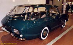 STRANGE OLD FRENCH CAR - BUILD BACKWARDS?