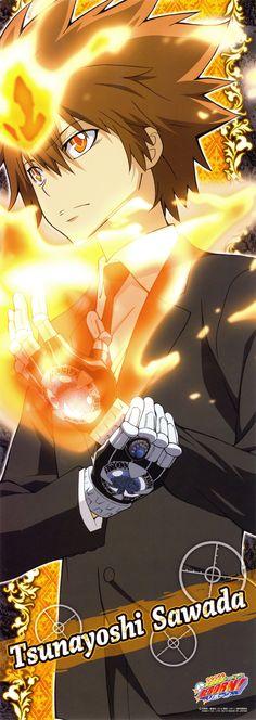 Tsunayoshi Sawada | Katekyo Hitman Reborn