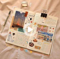 Bullet Journal Kpop, Planner Bullet Journal, Bullet Journal Aesthetic, Bullet Journal Ideas Pages, Bullet Journal Inspo, Bullet Journal Layout, Art Journal Pages, Photo Journal, Scrapbook Journal