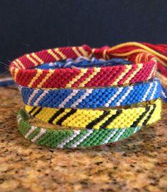 Harry Potter House Scarf Bracelets