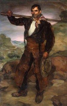 'El Vaquero', Ignacio Zuloaga Zabaleta