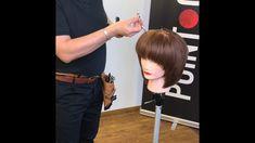 ShapeME Advanced Layers live - Martha Home Hair Cutting Videos, Hair Cutting Techniques, Hair Videos, Short Thin Hair, Short Hair Wigs, Short Hair Styles, Simply Hairstyles, Braided Bun Hairstyles, Point Cut Hair
