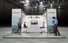 x Modular Exhibition Stand – 2 Stand Design, Booth Design, Slat Wall, Exhibition Stands