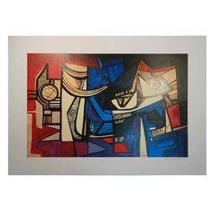 Burle Marx - Gravura assinada - Uma obra de arte na sua casa por um preço acessível! Etchings, Moldings, Artworks, Houses, Artists