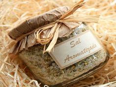 Aprenda a fazer sal aromatizado caseiro - A Senhora do Monte