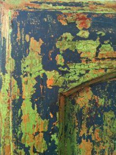Chalk Paint® crackled, layered and scraped @ liz douglas designs