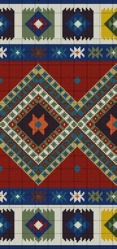 Gallery.ru / Фото #6 - Anchor Kilim Carpet - azteca