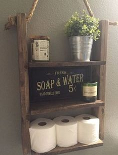Get cozy rustic decorations on a budget with these cheap and easy DIY Rustic Home Decor Ideas! From bedroom ideas to living room ideas, there are over a hundred easy DIY home decor ideas for your whole home. Easy Home Decor, Cheap Home Decor, Diy Casa, Rope Shelves, Rustic Shelves, Floating Shelves, Home Projects, Welding Projects, Design Projects