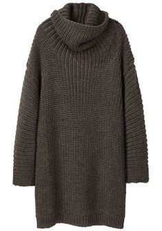 Lauren Manoogian Shaker Handloomed Turtleneck