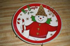 Mr. Bingle Plate by Noble Excellence