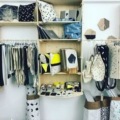 shop layout with our AWARE by Printa home collection #storedesign #homecollection #printandpattern #printa #printa_budapest #awarebyprinta #paperbag #pillows #prints by printa_budapest